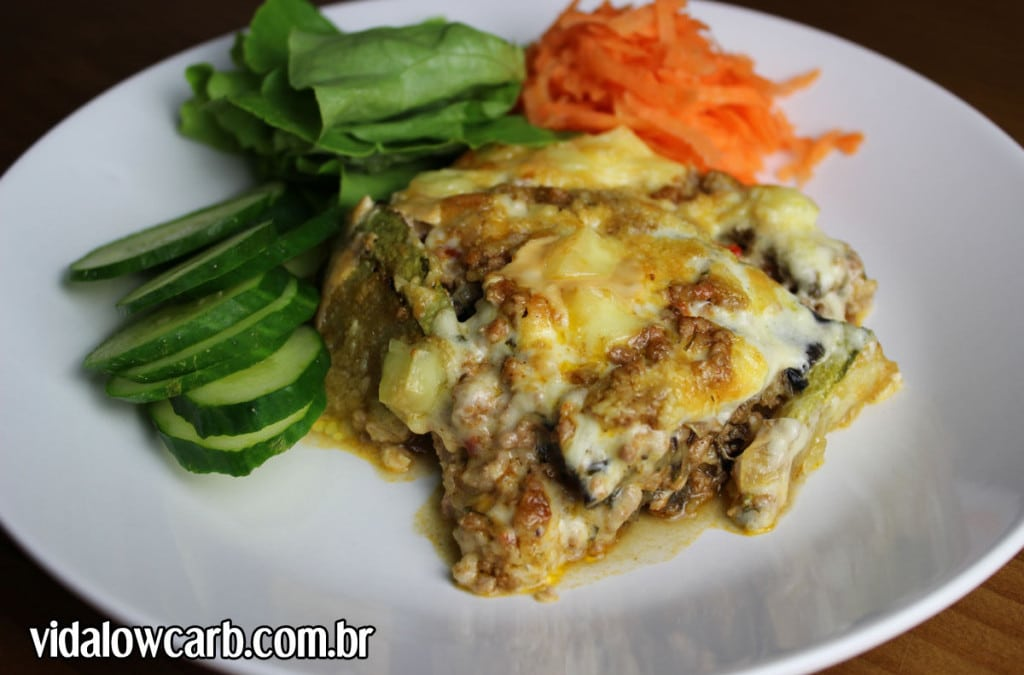 Lasanha low carb (Moussaka)