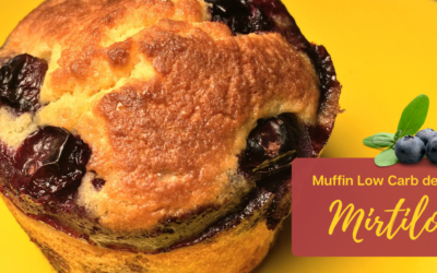 Muffin de Mirtilo Low Carb – Delicioso e Fofinho!